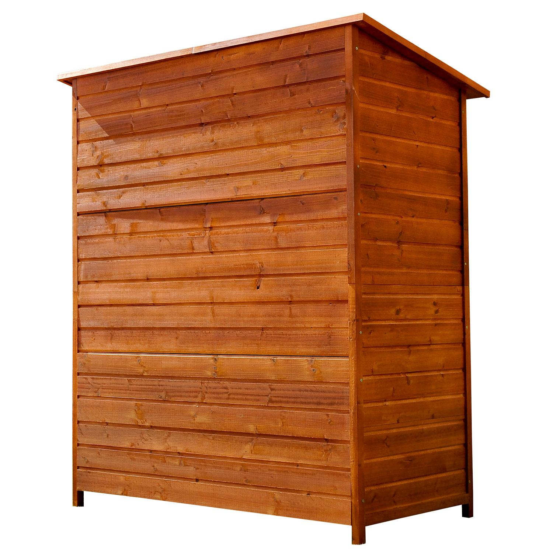 meuble armoire abri de jardin rangement outils ext rieur en bois massif neuf 54 ebay. Black Bedroom Furniture Sets. Home Design Ideas