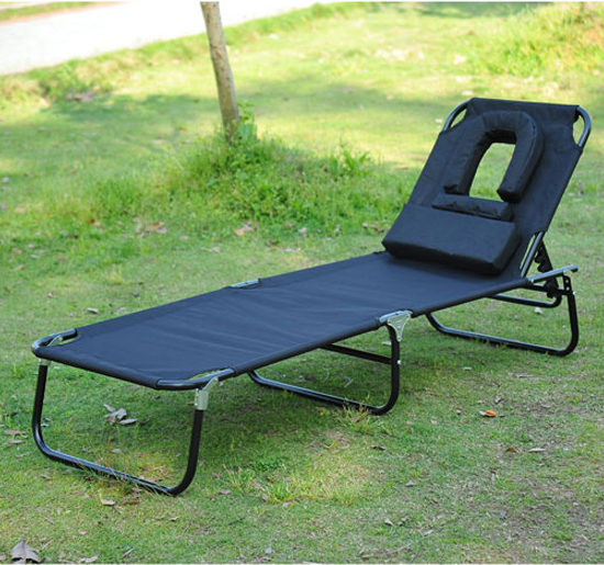 transat de jardin chaise longue pliante bain de soleil noir neuf 42 ebay. Black Bedroom Furniture Sets. Home Design Ideas