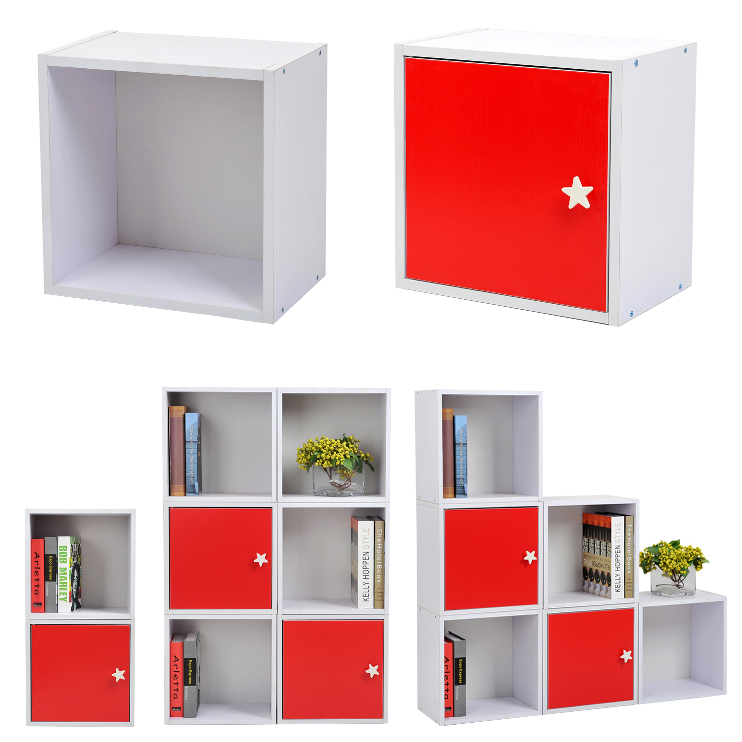 cube de rangement tag res armoire biblioth que. Black Bedroom Furniture Sets. Home Design Ideas