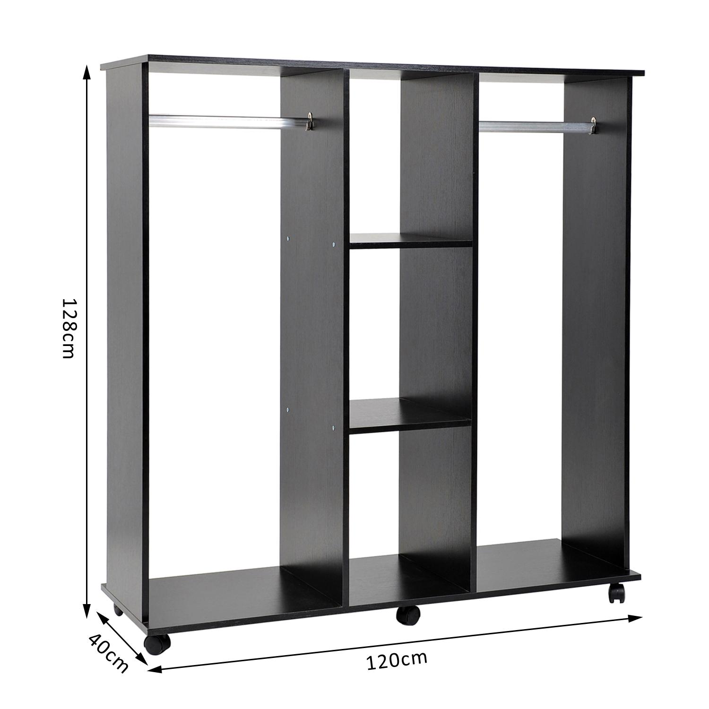 armoire etagere sans penderie design isolant caisson. Black Bedroom Furniture Sets. Home Design Ideas