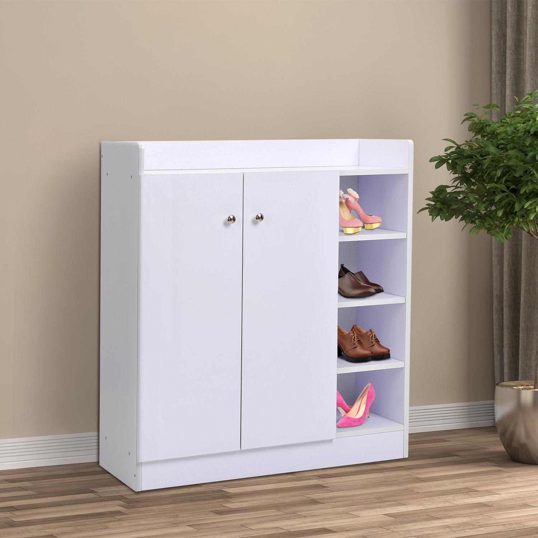 armoire etagere meuble a chaussure tres pratique en panneaux de particules 23 ebay. Black Bedroom Furniture Sets. Home Design Ideas