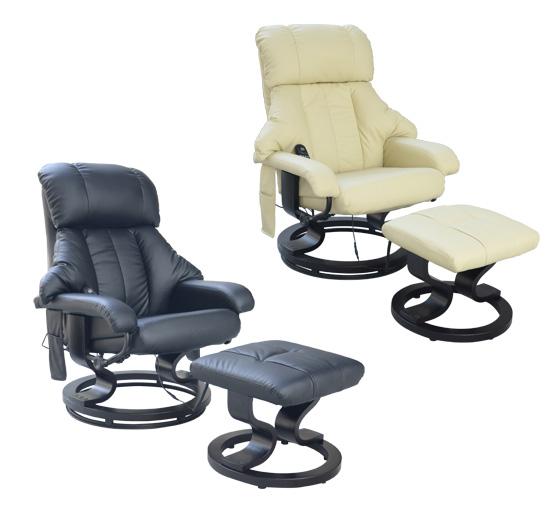 Fauteuil de massage relaxation relax chauffage tv lectrique repose pieds neu - Fauteuil massant belgique ...