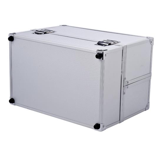 valise coffre maquillage bo te cosm tique malette esth tique aluminium neuf 03 ebay. Black Bedroom Furniture Sets. Home Design Ideas
