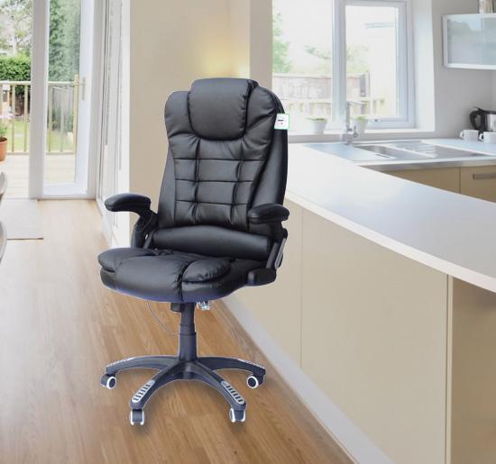 Chaise de bureau pivotante fauteuil de massage lectrique massant oissel - Chaise de massage electrique ...