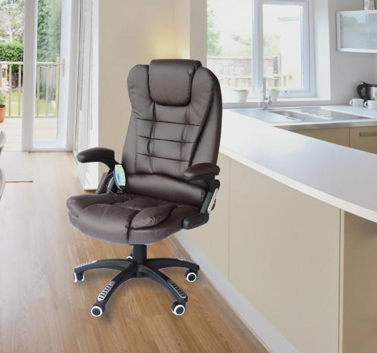 chaise de bureau pivotante fauteuil de massage lectrique massant vibration 56. Black Bedroom Furniture Sets. Home Design Ideas